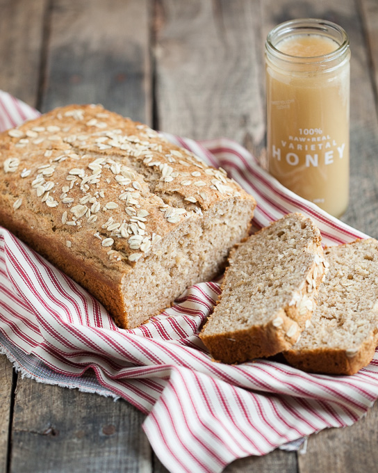 Honey Oat Bread | Gather & Dine
