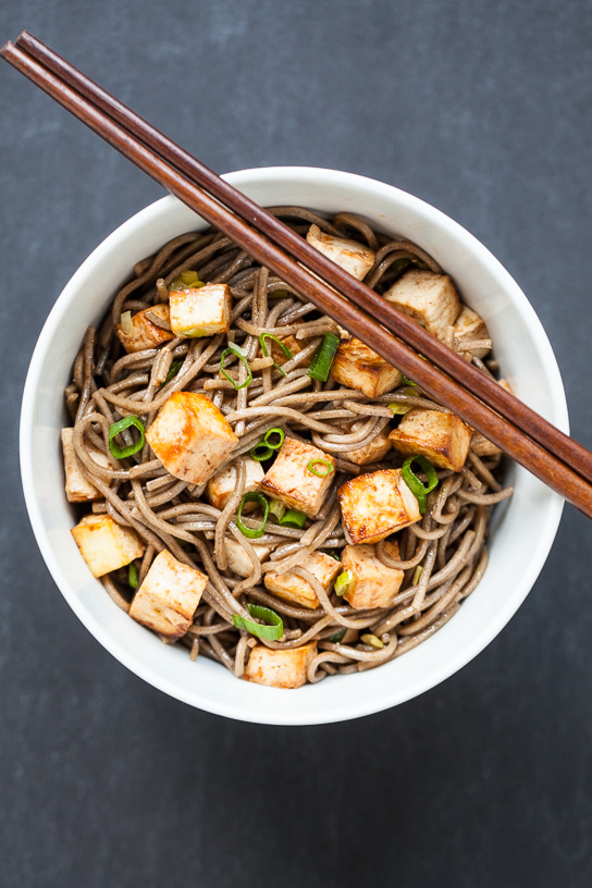Easy Baked Tofu with Soba Noodles | Gather & Dine