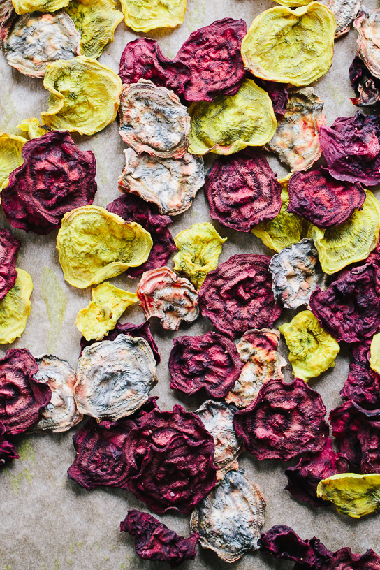 Baked Beet Chips Recipe — Dishmaps