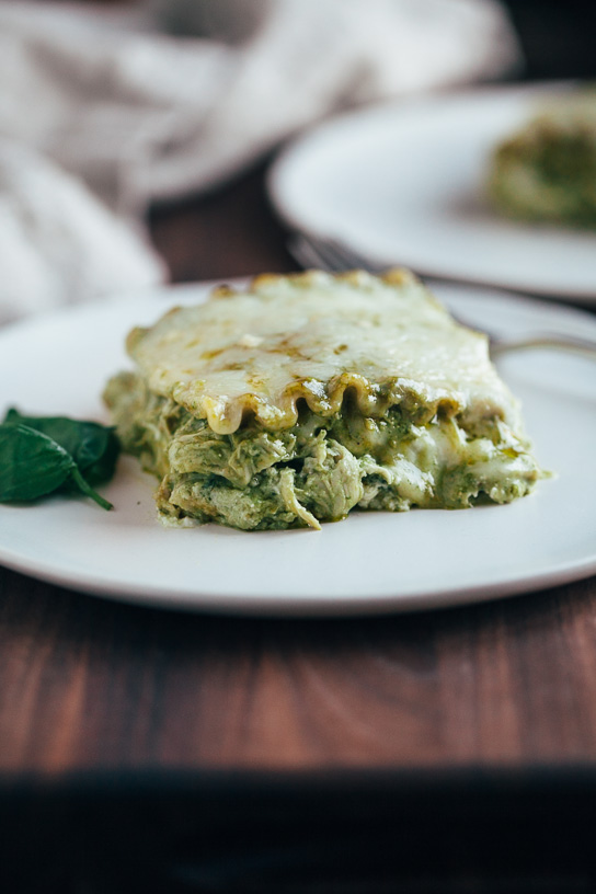Pesto Chicken Lasagna | Gather & Dine