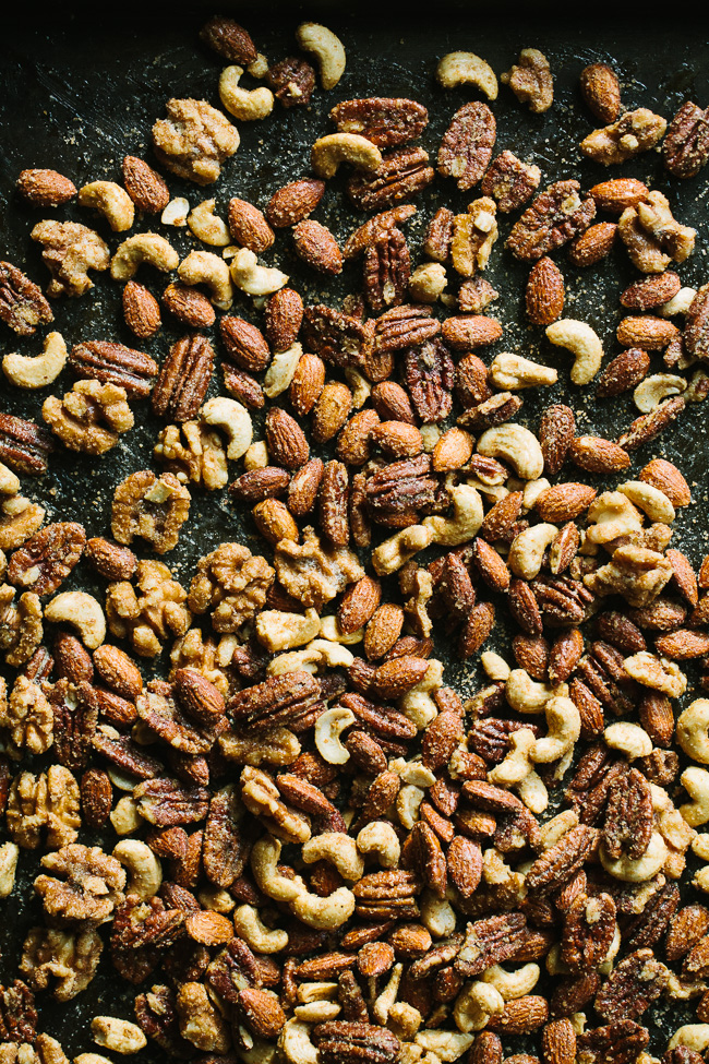 Simple Spiced Mixed Nuts