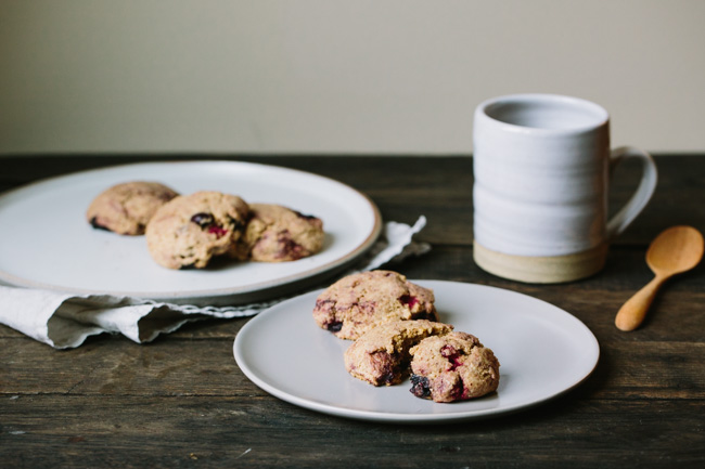 Berry Breakfast Cookies