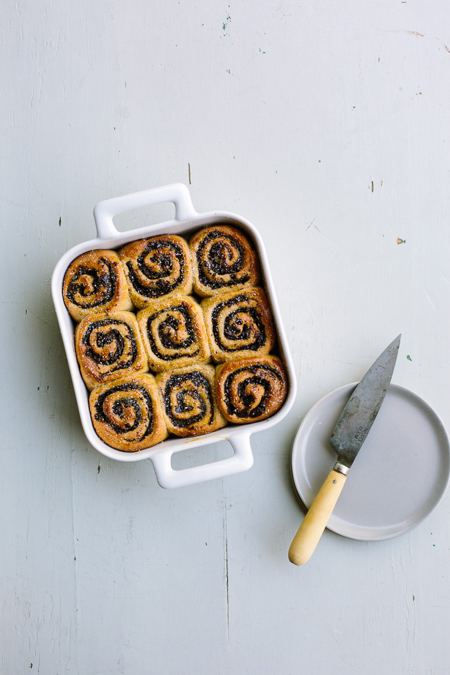 Chocolate Fig Swirl Rolls
