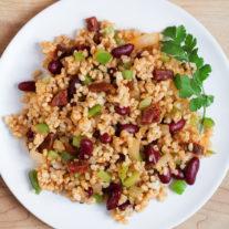 Chorizo and Red Beans Rice