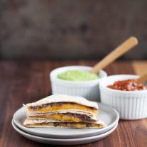 Black bean quesadillas | from Gather & Dine