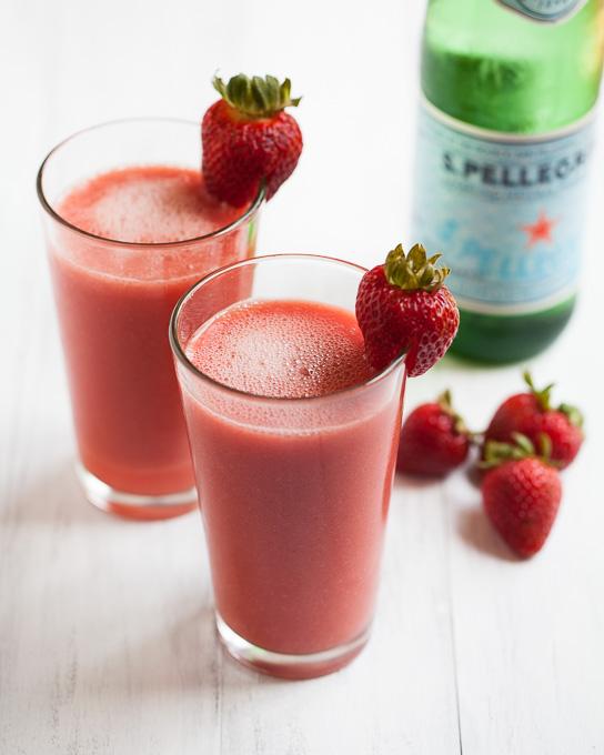 Watermelon Strawberry Sparklers