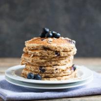 Blueberry Oatcakes