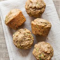 Zucchini Raisin Muffins | Gather & Dine