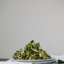 Crispy Brussel Sprout Chips | Gather & Dine