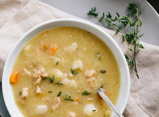 White Bean Chicken Sausage Soup