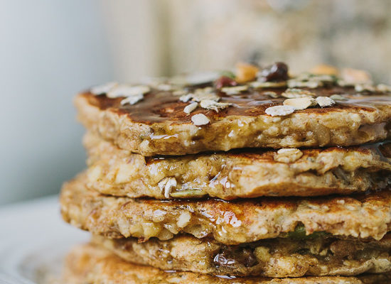 Muesli Pancakes | Gather & Dine