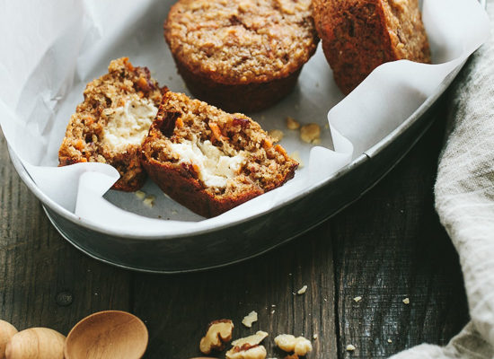Apple Oat Bran Muffins