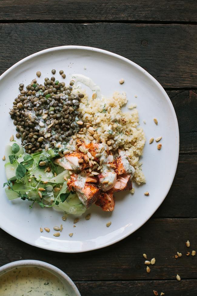salmon-lentil-plate-