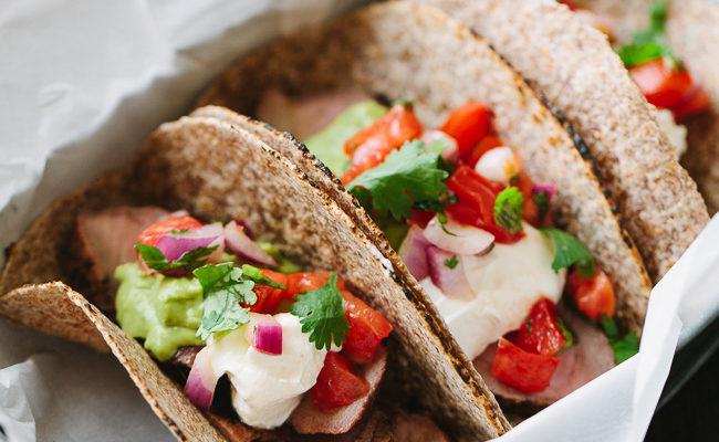 Grilled Pork Tenderloin Tacos