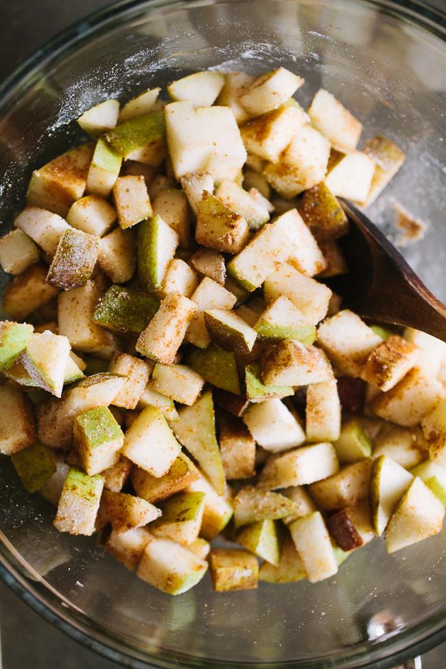 Gingered Pear Crisp