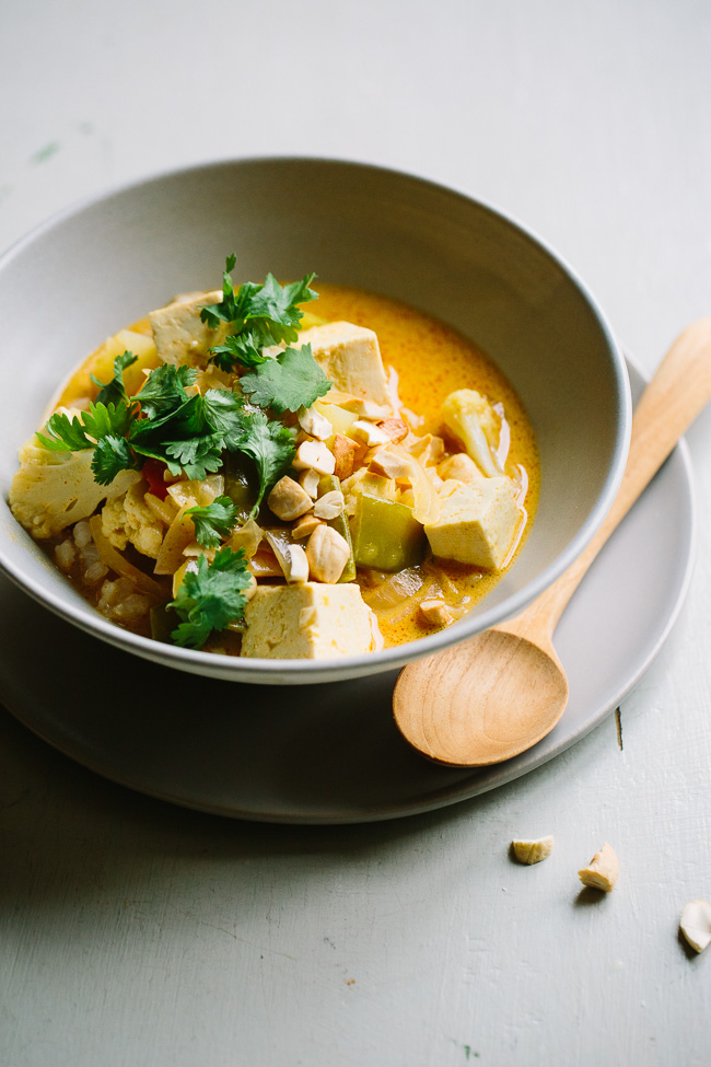 A really good everyday curry- the only curry recipe you'll ever need because it's so versatile, adaptable, and simple.
