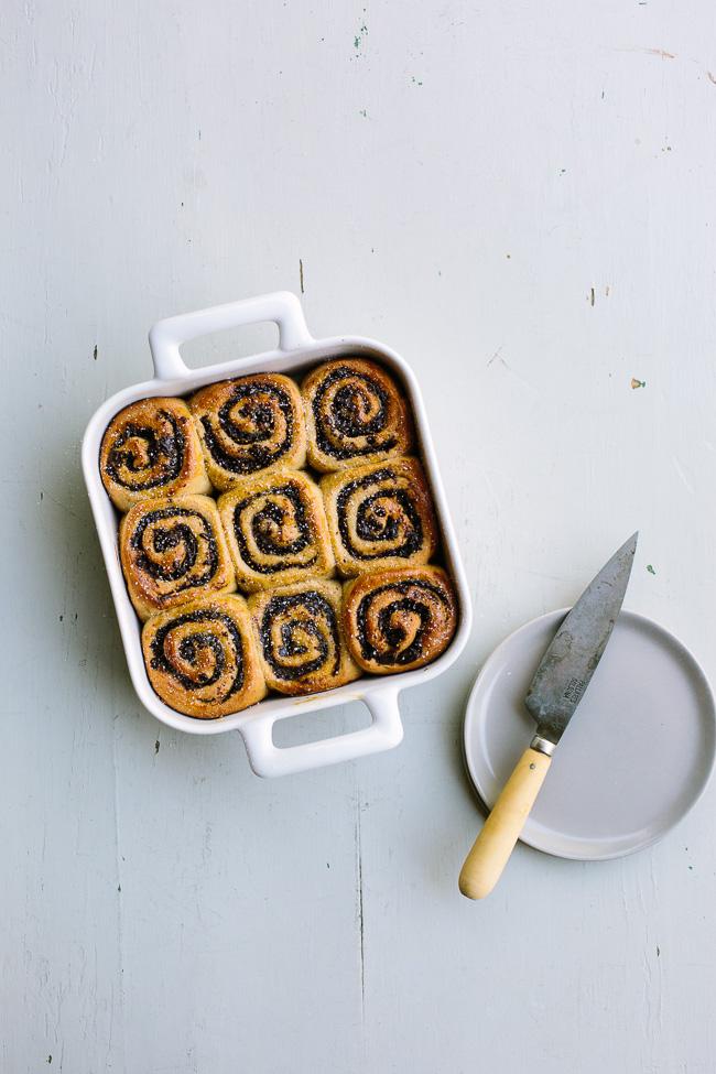 Chocolate Fig Swirl Rolls