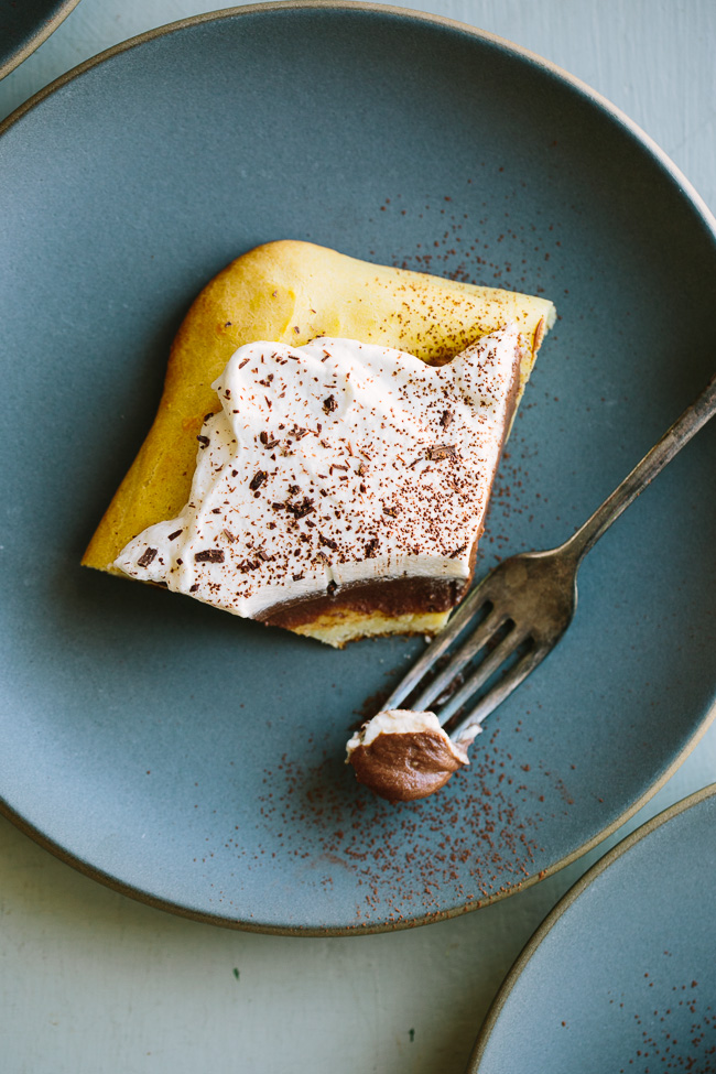 how to make chocolate eclair cake